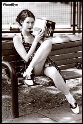 Eliza Lolita bench by woodeye