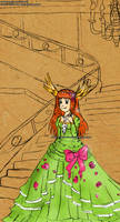 Colored Sketch: Princess Izka by izka-197