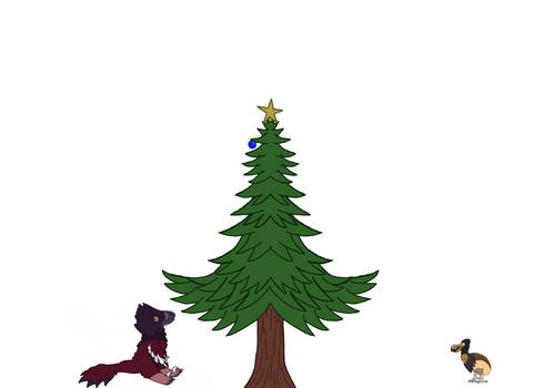 Merry Cenozoic Christmas! 2 by TheDinoDrawer66