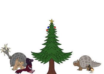 Merry Cenozoic Christmas!(Updated) by TheDinoDrawer66
