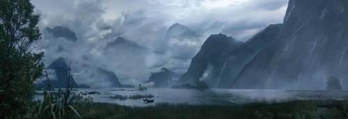 Misty Lagoon by e-humbert