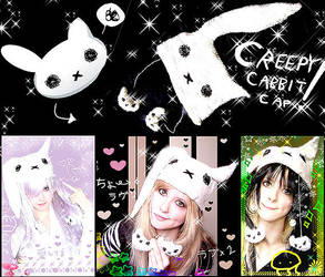 Creepy Cabbit Cap by Felis-M