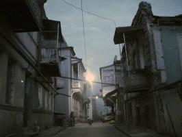 Old Tbilisi by datochalidze