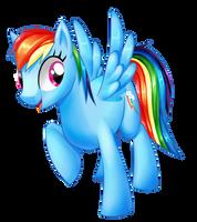 Rainbow Dash by Alanymph