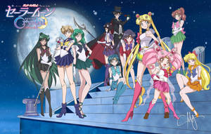 Sailor Moon S Ending Pose (Crystal Style Redraw) by eMCee82