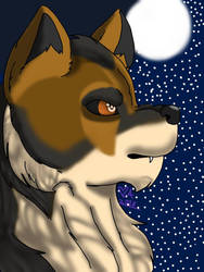 Werewolf  by Heart-of-a-Artist