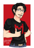 =Gift= Markiplier by yulia-hime