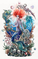 Mermaid Collab by AVindas