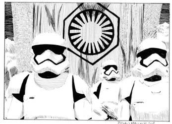 InktoberStarWarsTroopers by Maikart24