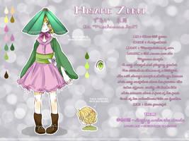 Hisame Zurui - References sheet by nekotoba