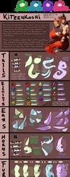 Kitzenkoshi Species - TRAIT SHEET by Mizuki-Cho