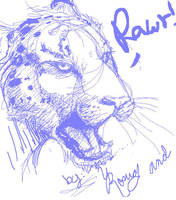 yanelys jaguar rawr by foofoo1515
