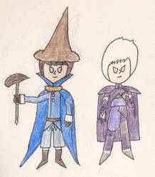 Black Mage and Kliff by DragonMage98