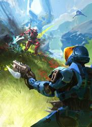 Halo 3 Beta 10th Anniversary by TDSpiral