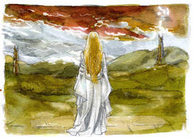 The lady of Rohan by crisurdiales