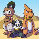Team RoughnTough (Foxeaf Fanart) by MajorLeeMan