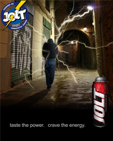 Jolt | Taste the Power, Crave the Energy by pmcreations