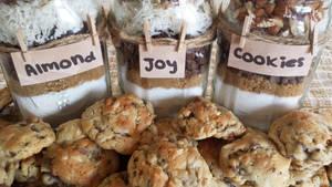 Almond Joy Cookies in a Jar by JenniBeeMine