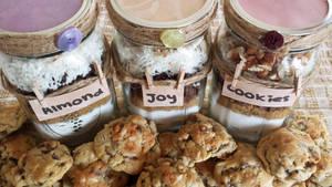 Almond Joy Cookie Jars by JenniBeeMine