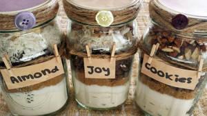 Almond Joy Cookie Mixes in a Jar by JenniBeeMine