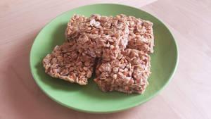 Peanut Butter Oat Squares by JenniBeeMine