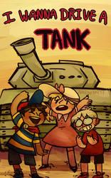 Small Tank Children by Anamatronicfish