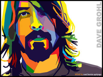 dave grohl WPAP by bujangkecil