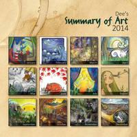 Summary of Art 2014 by beareen