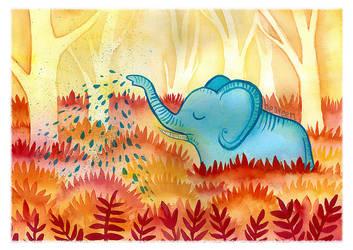 Elephant's Garden by beareen