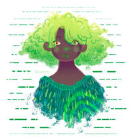 Tree lady by beareen