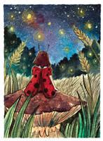 Fireflies by beareen
