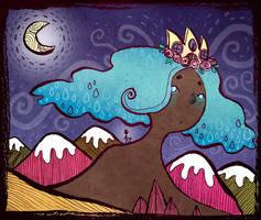 whimsical night walk by beareen