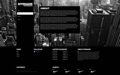 SITENAME Wordpress Blog by Jukasarts