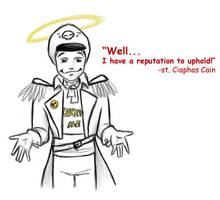 Saint Cain by Greyshader