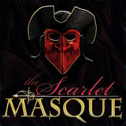 The Scarlet Masque: Full Logo by MickBradley