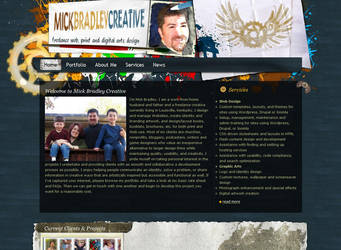 Web Design: MB Creative by MickBradley