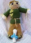 Scarecrow Amigurumi Doll by voxmortuum