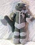 Tin Woodsman Amigurumi Doll by voxmortuum