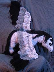 Pegasus Amigurumi Doll by voxmortuum