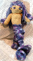 Male Merperson Amigurumi Doll by voxmortuum