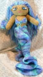 Mermaid Amigurumi Doll by voxmortuum