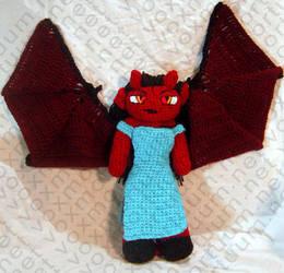 Demoness Amigurumi Doll by voxmortuum