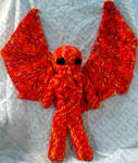 Male Cthulhu Amigurumi Doll by voxmortuum