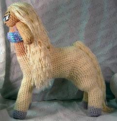 Female Centaur Amigurumi Doll by voxmortuum