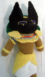 Seth Amigurumi Doll by voxmortuum
