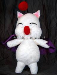 Moogle Amigurumi Tribute Doll by voxmortuum