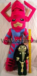 Galactus Tribute Doll by voxmortuum