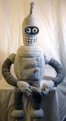 Bender -Futurama Tribute by voxmortuum