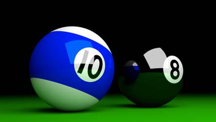 Pool balls by zackcdlvi