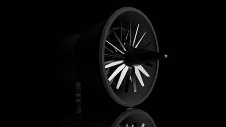 Jet Engine Prototype by zackcdlvi